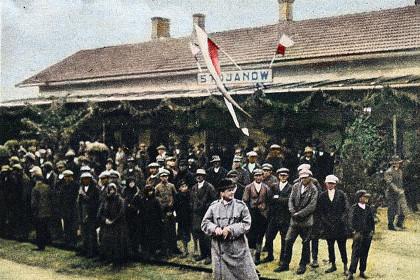Відкриття нової залізничної лінії Стоянів - Луцьк - 1928 рік