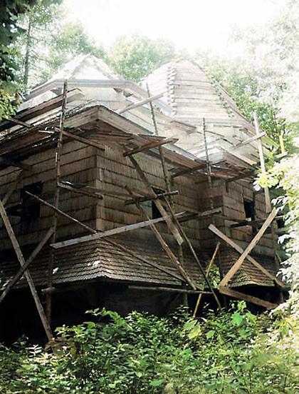 Церква під час відновлення 1990 рік