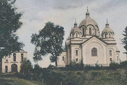 Церква святого пророка Іллі близько 1910 року
