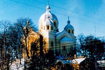 Церква святого пророка Іллі середина 1990-их років